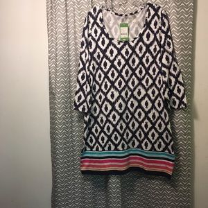 Lilly Pulitzer Beacon Dress Little Fish pattern XL